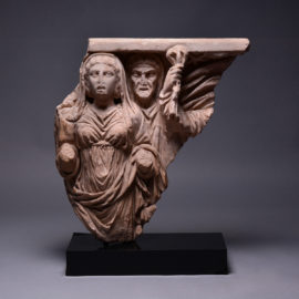 Relief from a Mythological Sarcophagus