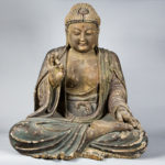 Wooden Sculpture of the Vairocana Buddha