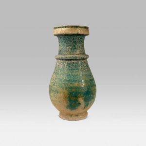 Green-Glazed Vase
