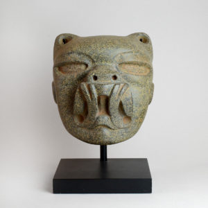 Olmec Stone Jaguar Head