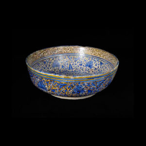 Safavid Glazed Bowl