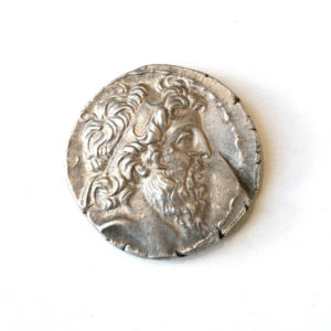 Silver Tetradrachm of King Demetrios II
