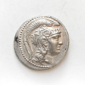 Athenian Silver Tetradrachm in the New Style