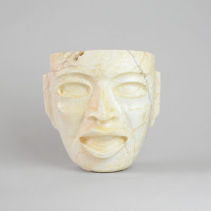 Teotihuacan White Stone Mask