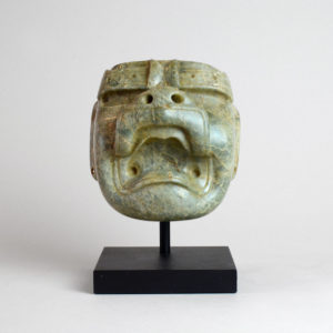 Olmec Jade Were-Jaguar Mask