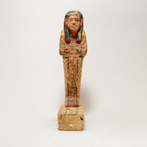Wood Polychrome Sculpture Ptah-Sokar-Osiris