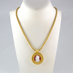 Classical Revival Gold Necklace