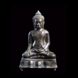 Khmer Bronze Sculpture of the Buddha