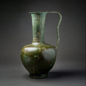 Incised Bronze Jug