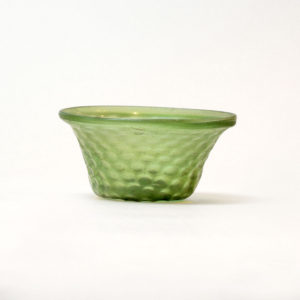 Islamic Green Glass Bowl