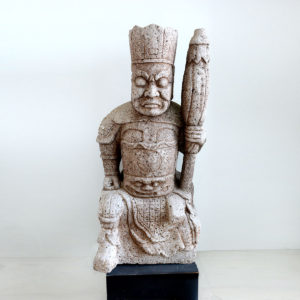 Song Granite Sculpture of a Celestial King