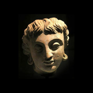 Bactrian Royal Head