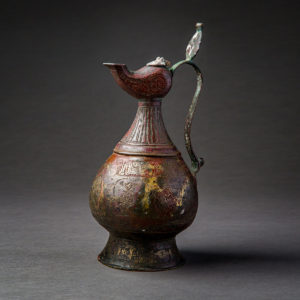 Engraved Seljuk Copper Alloy Ewer