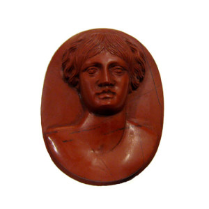 Jasper Cameo of Woman