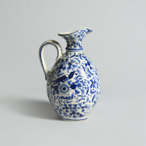 Ottoman Blue and White Ewer
