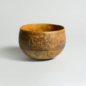 Mayan Carved Bowl
