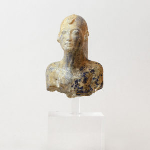 Lapis Lazuli Bust of the Pharaoh Akhenaten
