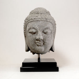 Song Dynasty Stone Head of Buddha