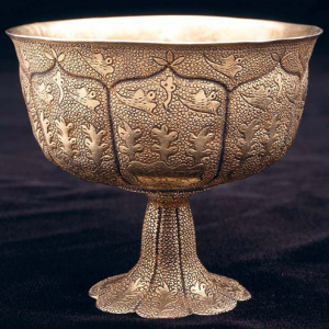 Tang Dynasty Gold Wine Cup