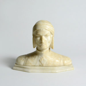 Marble Bust of Dante