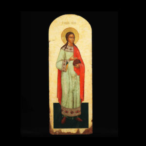 Russian Icon Of Saint Stephen