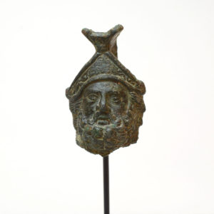 Roman Bronze Bust of Mars