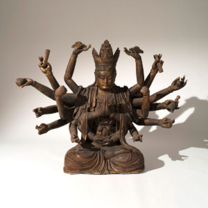 Sculpture of the Thousand Arms Guanyin