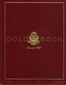 Gold Book Beverly Hills