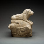 Achaemenid Stone Sculpture of Lions 1