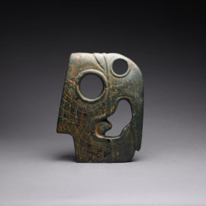 Mayan Jade Hacha of a Bird Head4