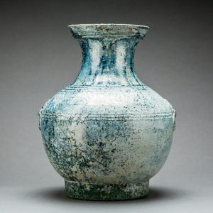 Lead-Glazed Jar with Dish-shaped Mouth