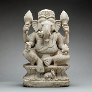 Marble Figure of Ganesh