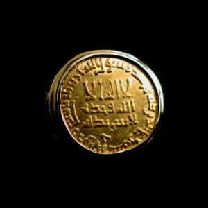 Gold Ring Featuring an Abbasid Gold Dinar1