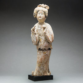 Tang Dynasty Terracotta Fat Lady