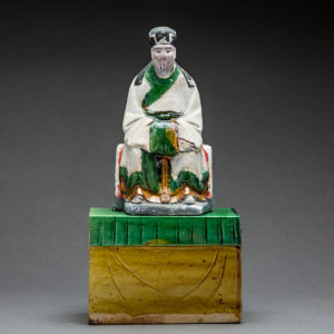 Ming Glazed Terracotta Sculpture