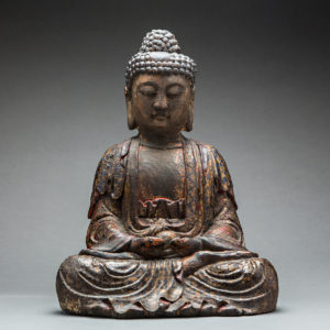 Ming Dynasty Wooden Sculpture