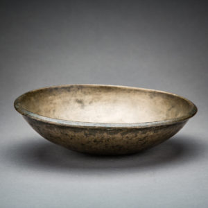 Sassanid Bronze Bowl with an Incised Ibex2