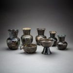 Set of Seven Sassanid Bronze Vessels8