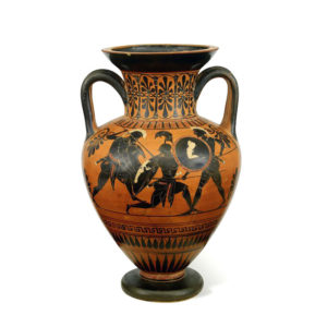 Greek Attic Black-Figured Neck Amphora