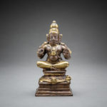 Indian Deity Seated on a Turtle
