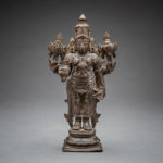 Bronze Figure of Vishnu