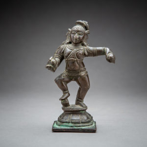 Bronze Figure of a Dancing Krishna