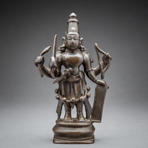 Bronze Figure of Veerabhadra