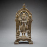 Standing Figure of Vishnu with Two Attendants