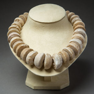 Bactrian Spindle Whirl Stone Bead Necklace2