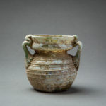 Roman Glass Jar with Two Handles
