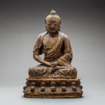 Qing Wooden Seated Buddha