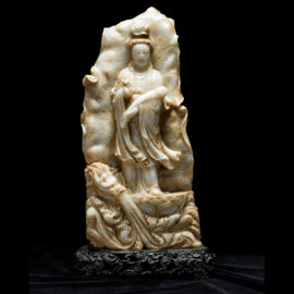 Marble Figure of Guanyin2