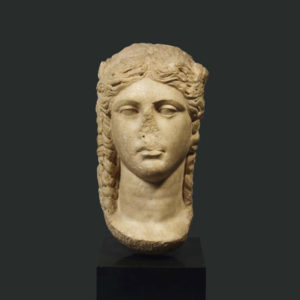 Greco-Roman Marble Bust of a Young Woman2