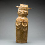 Han Glazed Anthropomorphic Container